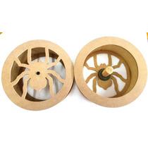 Carretilha Para Pipa De Madeira 29cm Corte/laser