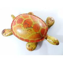 Antigo Brinquedo Tartaruga Ninja De Lata Anos 50! Estrela