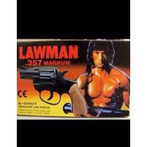 Brinquedo Revólver Rambo Anos 80
