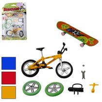 Bicicleta De Dedo C/acessorios
