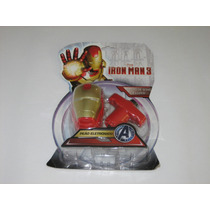 Iron Man 3 - Pião Eletrônico - Efeitos De Sons E Luzes