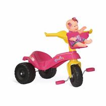 Triciclo Infantil Mototico Gatinha Bandeirante Motoquinha