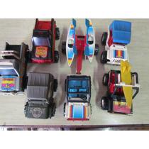 Lote De Carrinhos Brinquedos Bandeirante