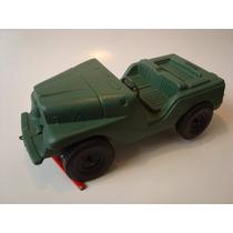 Antigo Jeep De Plástico Duro Fabricado Pela Atma