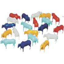 Super Kit Com 20 Miniaturas Boizinhos Plastico No Leilão