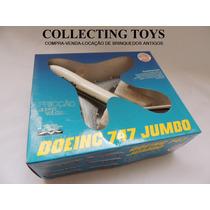 Brinquedo Antigo - Avião A Fricção Boeing Alitalia - Rei
