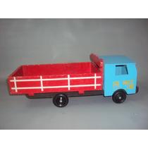 Brinquedo Antigo Raro Caminhão De Madeira Estrela?