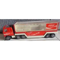 Caminhão De Lata Coca Cola Antigo