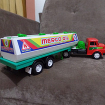 Caminhão De Brinquedo Mercedes Benz Tanque Petroleiro Na Cx.