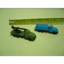 Brinquedo Antigo Caminhões Da - Pevi - Made Brasil Anos 80
