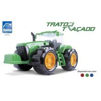 Trator Traçado 370 - Roma Brinquedos