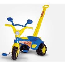 Triciclo Velotrol C/ Haste Blue Music Cotiplás Promoção!!!!