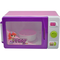 Microondas Meg De Brinquedo - Magic Toys
