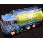 Caminhão Pipa Plástico Duro Brinquedo 23x9x11cm