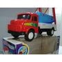 Caminhão Brinquedo Mercedes Benz Caçamba Entulho Lixo Na Cx