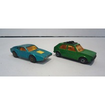 Carrinhos Matchbox Superfast Golf Nº7 E Saab Sonett Nº 65