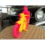 Motocicleta Indiam Plástico Estrela Mirim Atma Brasil 1950