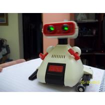 Robô Ding Bo Da Estrela Anos 80 O Único Que Ascende Os Olhos