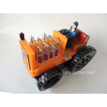 Brinquedo Antigo - Trator Eletrônico - Made In Japan - 60