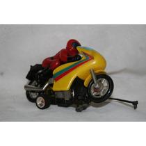 Moto Racing Chips Só A Moto Glasslite Brinquedo Antigo