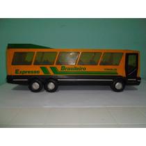 Brinquedo Raro Antigo Ônibus Expresso Brasileiro P/ Coleção