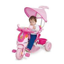 Triciclo Evolution Rosa - Cotiplás Promoção