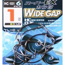 Anzol Wide Gap Nº 10 - Para Pesca De Robalo