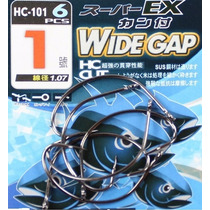 Anzol Wide Gap Nº 8 - Pesca De Robalo - Alevinosepeixes