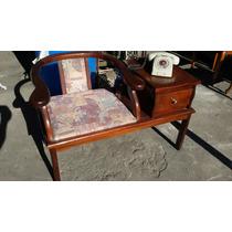 Mesa Cadeira Telefone Estilo Colonial