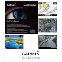 Nova Carta Náutica Garmin 2015 6 Em 1 Garantia Infinita Blue