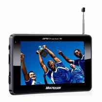 Gps Automotivo 4.3 Tracker Multilaser Tv Digital + Radio Fm