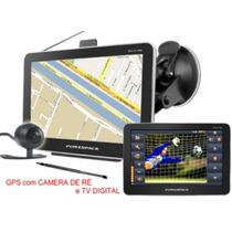 Gps 5 P. Igo E Radares Atualizado Camera De Ré E Tv Digital