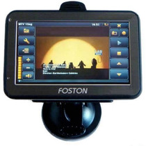 Gps Foston Fs-460dt - Tv Digital - Bluetooth, Avisa Radar