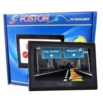 Gps Automotivo Foston Fs-3d 463 Tv Digital Tela 4.3 Trans Fm