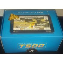 Gps Apontador T500 + Tv Digital Touch Screen Tela 5.0