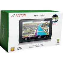 Gps Foston Tablet Android Fs-3d 720 Pc C/bluetooth, Câm Wifi