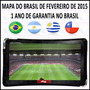 Gps Guia Quatro Rodas Slim 5.0 - 4508 Tv Digital Mapa 2015