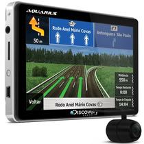 Gps 5 Tv Digital Sd Aquarius Discovery Channel + Camera Ré