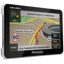 Gps Automotivo 7 Tv Digital Sd Aquarius Discovery Channel