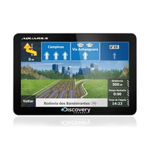Gps Discovery Channel Mtc 2132 Slim Tela 5.0 - Tv Digital