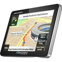 Gps Discovery Channel 4.3 Slim Aquarius E Alerta Radar Touch