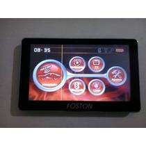 Gps 7pol. Foston Fs-707dc Tv-dig. Bt Fm Trans. Sd 2g Igo 8.3