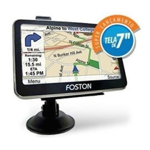 Gps Foston Fs-710 Tela 7 Polegadas 3d Tv Digital Avisa Radar