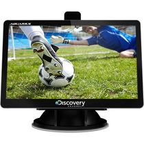 Gps Discovery Channel 4,3 3d Tv Digital Suporte No Leilão