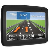 Navegador Gps Tomtom Via 1435m Tela 4,3 Bluetooth Micro Sd