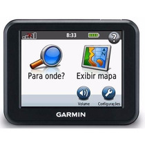 Gps Nuvi 30 Garmin Slim Tela 3.5 Mapa Brasil Atualizado