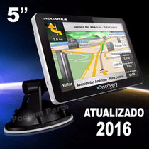 Gps Automotivo Discovery 5 Polegadas Alerta Radar Tv Digital
