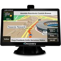 Gps Automotivo 4.3 Touch Screen Tv Digital Alerta Radar