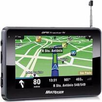 Gps Automotivo Camera Ré Tela 4.3 Multilaser Tracker Tv Novo