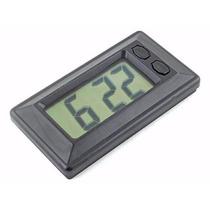 Relógio Digital Carro Calendário Data Display Decorativo